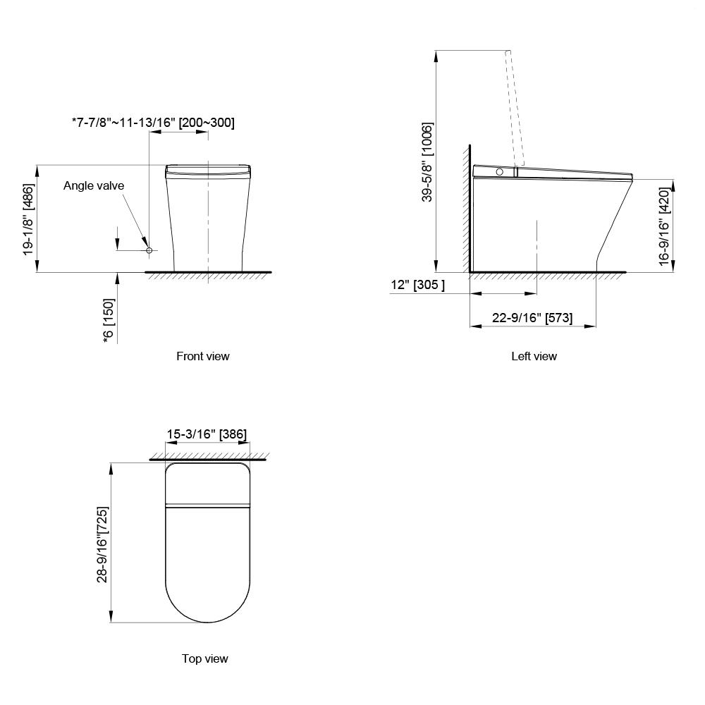 Primus Tankless Toilet W330 0431 U1 Axent
