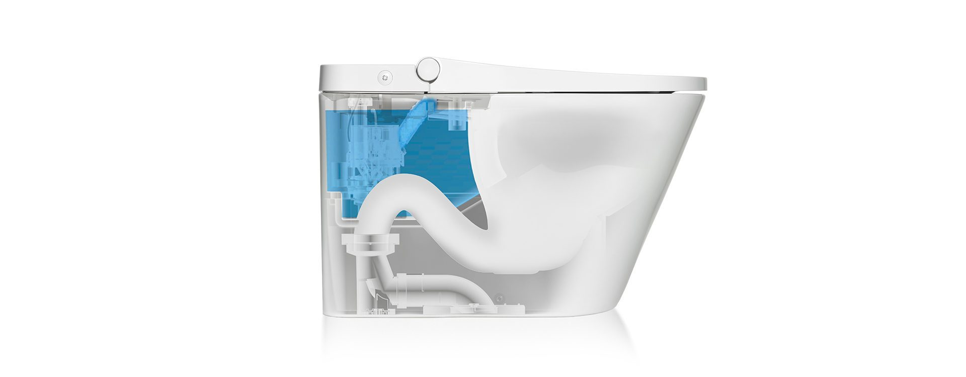 Eco-friendly flushing technology.