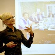 Mrs. Corinna Kretschmar-Joehnk, President of JOI-DESIGN