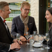 Mr. Thomas Meiser, Owner of Meiser Hotel Group in Germany (first on the left)