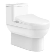 Dune II One-Piece Toilet & Slims Low-Profile Intelligent Bidet Seat Package