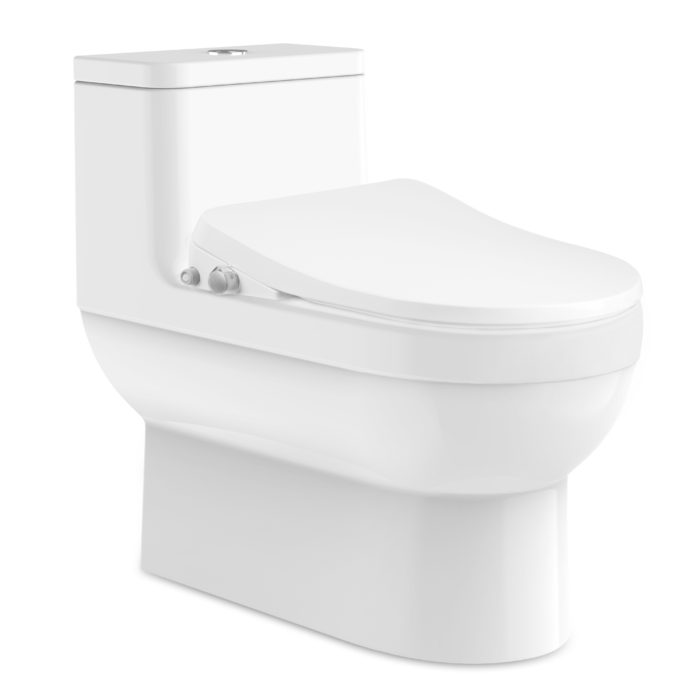 Miraculous Slims Fe105 Low Profile Intelligent Bidet Seat Short Links Chair Design For Home Short Linksinfo